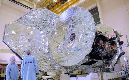 Телескоп «Гершель» во время
