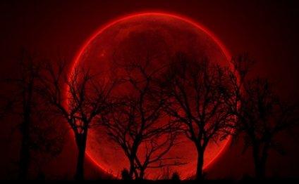 Лунное затмение 18 августа