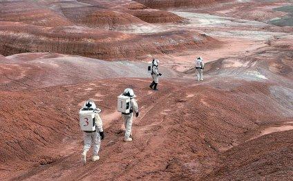 Первый и тайный полет на Марс