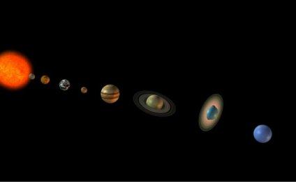 Редкий парад планет виден в