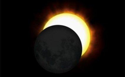 Солнечное затмение 9 марта