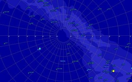 Парад планет в декабре 2012